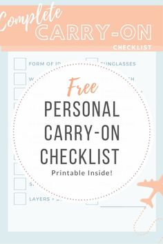 Don't let packing stress you out. We've put together a complete list of all of the carry-on essentials we pack every time we take a trip. Grab your own packing free, printable packing list here. Travel doesn't have to be stressful - and it shouldn't be! Carry On Essentials, Carry On Packing, Packing List For Travel, Carry On Bag, Travel Tips, Packing Lists, Printable Packing List, Packing Checklist, Games To Play With Kids