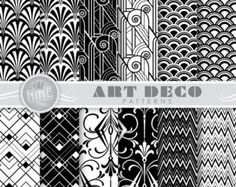 art deco patterns on Etsy, a global handmade and vintage marketplace.