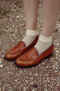 cute shoes + socks combo