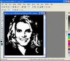 In this Corel Draw software tutorial you will learn how to draw portrait patterns to be used in your scroll saw woodworking. In this tutorial you will not have to draw portraits from scratch but convert photos into patterns within Corel Draw. Scroll Saw Patterns Free, Scroll Pattern, Cross Patterns, Hand Embroidery Patterns, Art Patterns, Stencil Templates, Stencils, Corel Draw X8, Corel Draw Tutorial