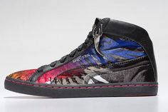 Basketball Shoes PUMA Alexander McQueen Eagle Printed Sneakers
