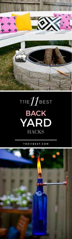The 11 Best Backyard Hacks