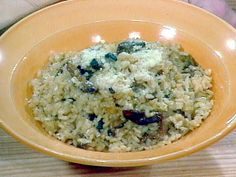 Get Simple Mushroom Risotto Recipe from Food Network