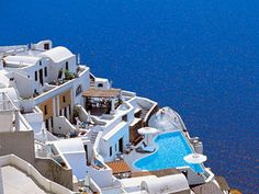 GREECE CHANNEL |  Katikies in Santorini, Greece this would be so relaxing