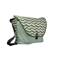 Provisions 707 Waves of Green Messenger Bag Pack Your Bags, My Bags, Beautiful Bags, Girls Best Friend, Hand Bags, Peridot, Purses And Handbags, Me Too Shoes, Bag Accessories
