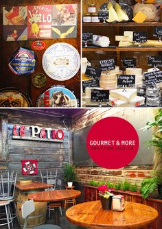 Gourmet and More - amazing cheese shop with patio in Hayes Valley, San Francisco