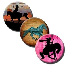Another awesome PDF from GraphicDivine on Etsy! These will make great bottle cap jewelry for Rodeo Houston!