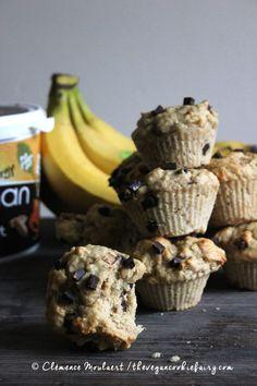 #Vegan #Protein Peanut Butter Choc Chips #Muffins   The Vegan Cookie Fairy