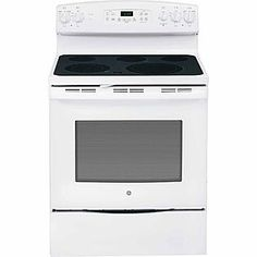 GE Appliances- -5.3 cu. ft. Electric Range w/ Convection Oven - White