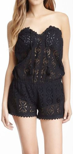 Coverup Romper // for over bathing suits