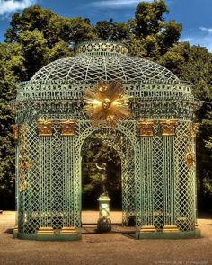 Palace of Versailles: garden detail