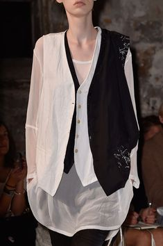 Ann Demeulemeester at Paris Fashion Week Spring 2015 - Details Runway Photos