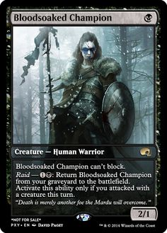 Blood Soaked Champion