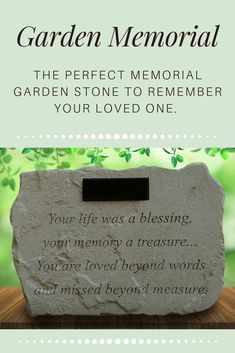 This soothing sentiment (Copyright Renee Wood) is an exclusive product offered only from The Comfort Company. It's the perfect verse to honor any kind of loss. Add your own line of personalization to make this a gift as unique as the life it represents.