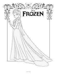 FREE Frozen Printable Coloring & Activity Pages! Plus FREE Computer ...