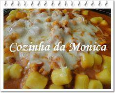 COZINHA DA MONICA: Molho de camarão ao leite de coco para massas