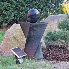 Attraktiv Solar Springbrunnen Set NSP4 Mit Akku Und LED Beleuchtung... Https://