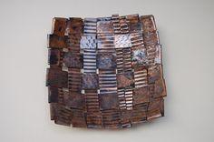 cute little texture copper basket.