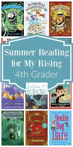 It's almost summer time! Thank goodness, right? While we're not going to be homeschooling full time over this summer, I do still have some learning activities planned. At the very top of that list are books and more books. My kids are going to be doing