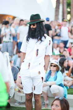 Guys can show off their #FestivalFashion too!