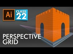 Adobe Illustrator - Perspective Grid - Class 22 - Urdu / Hindi - YouTube