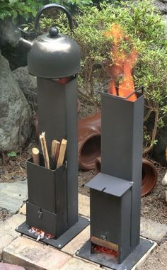Discover thousands of images about Rocket Stove Jet Stove, Stove Oven, Rocket Heater, Rocket Stoves, Metal Projects, Welding Projects, Rocket Stove Design, Bbq Shed, Outdoor Stove