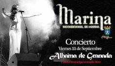 Próximo concierto de Marina Alhama de Granada http://marinagarciaherrera.es/marina-en-concierto-viernes-dia-11-de-septiembre-alhama-de-granada-entrada-libre/