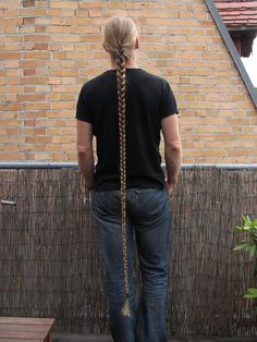 This braid is his high school sweetheart.