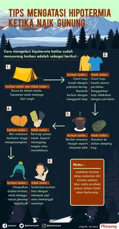 Tips mengatasi hipotermia saat mendaki