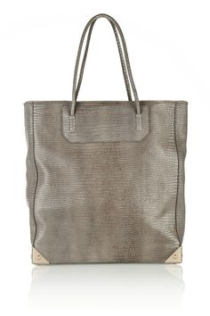 Alexander Wang | Prisma lizard-effect leather tote
