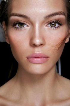 Natural and polished makeup