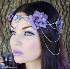 Flower Hairpiece