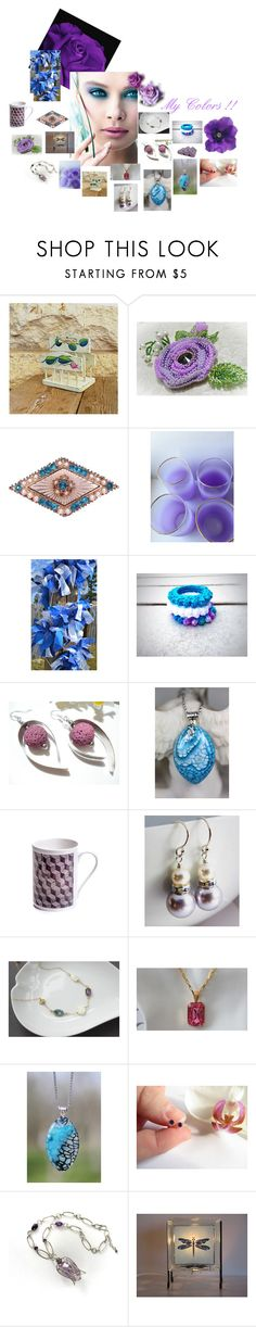 """""""My colors !!"""" by zebacreations ❤ liked on Polyvore featuring Kori"""