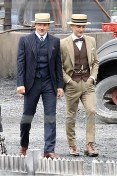 Classy Suits from the Movie, The Great Gatsby