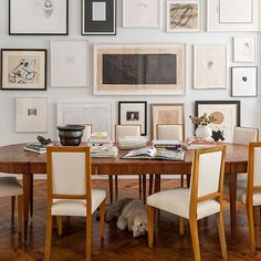 Dining room | Brownstone in New York | House tour | PHOTO GALLERY | Livingetc | Housetohome.co.uk