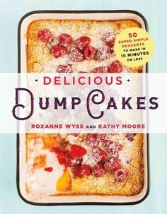 Now anyone can bake rich, wonderful, and comforting desserts and get out of the kitchen in lightning-fast speed . Quick and convenient dump cakes are perfect for families with children who always want