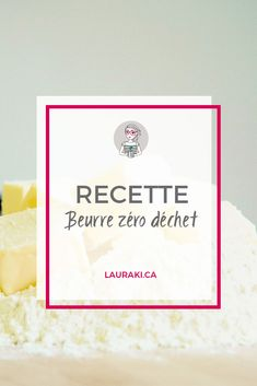 Recette de beurre maison zéro déchet | Receip to make butter for cooking #zerodechet #butter #cook #zerowaste #cuisine