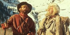 "Jeremiah Johnson & Bear Claw Robert Redford & Will Geer ""You've come far pilgrim."""