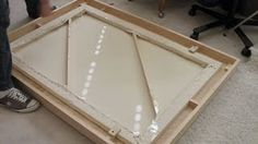 how to make a picture frame - YouTube