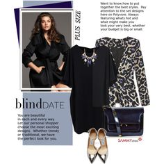 What to Wear: Blind Date (plus size)