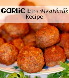 Homemade Italian Meatballs Recipe - This is a recipe that has been handed down to generations!