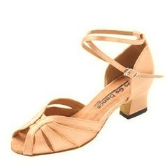 Go Go Dance Shoes Womens 7191 Tan Satin Sandal Size 10 US    For more 1b62b1a624a