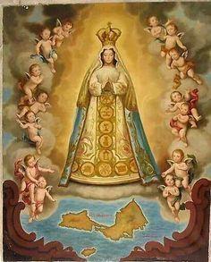 Virgen del Valle....Venezuela.