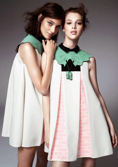 Anais Pouilot & Hanneli Mustaparta for H&M Design Award Winner Collection | Photoshoot