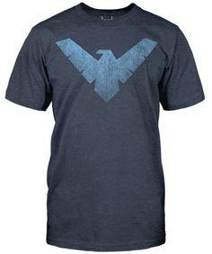 New DC Comics Nightwing Mens Vintage T-Shirt