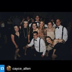 Flashback to the 20's at our Gatsy dance!