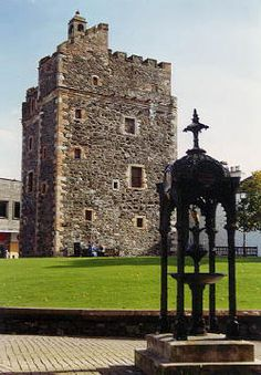 St John's Castle, Stranraer, Scotland, built in the early 16th century, its been a home, a court, a prison and a military garrison during the 'killing years' of Covenanter persecution during the 1600s. Built by the Adairs of Kilhilt