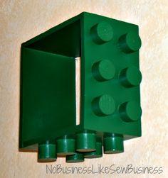 No Business Like Sew Business: Tutorial: Lego Shelves