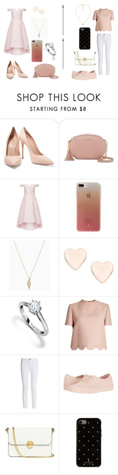 """""""...."""" by caitlinkansil on Polyvore featuring Casadei, MICHAEL Michael Kors, Kate Spade, Ted Baker, Asprey, Valentino, rag & bone, Vans, Tory Burch and Gucci"""