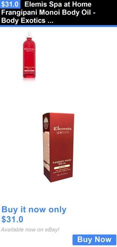 Bath Oils: Elemis Spa At Home Frangipani Monoi Body Oil - Body Exotics 100 Ml 3.4 Fl Oz. BUY IT NOW ONLY: $31.0